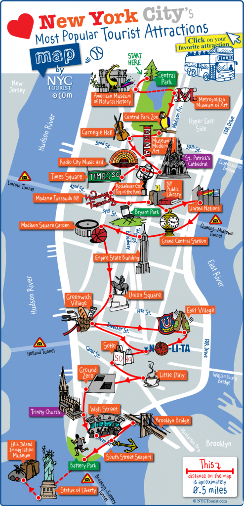 carte-touristique-new-york
